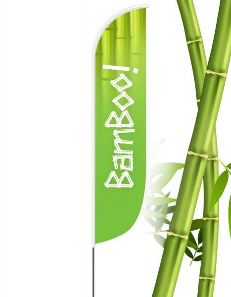 Beachflag Konvex Bamboo